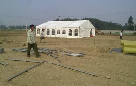 VIP篷房 搭建中。。。。