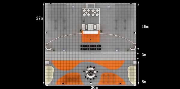 展区米格平面图